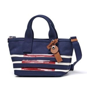 Marc By Marc Jacobs M0007856 Small Stripes Tote